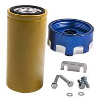 Fuel Filter Kit Adapter Fit For GM Duramax Chevrolet Chevy For GMC 6.6L 2001 2016