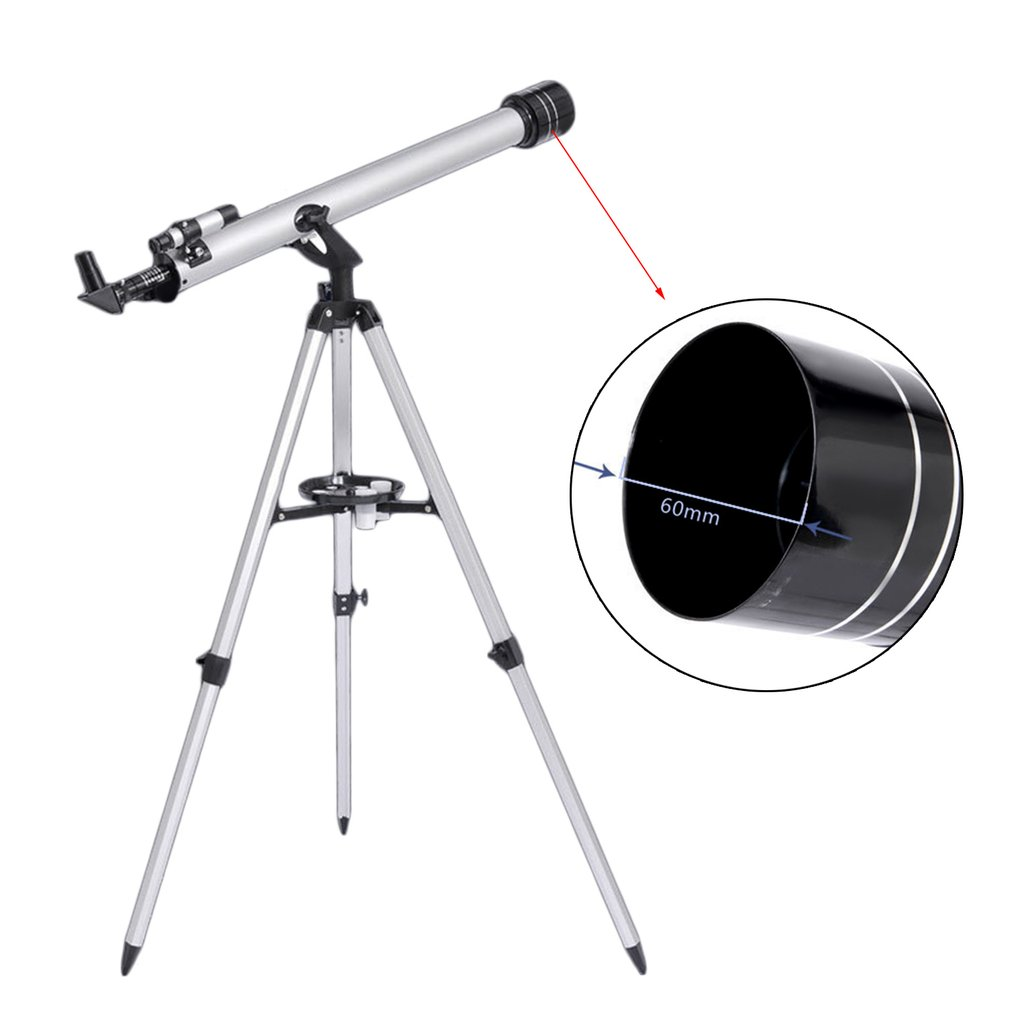 Visionking 60700 Refractor Space Telescope Universal Telescope K25mm 28x K10mm 70x For Astronomical Telescope Hunting/Exploring visionking sw 7x28 binocular for birdwatching with 100