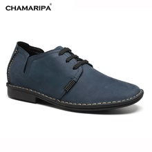 CHAMARIPA Increase Height 6.5cm/2.56 inch Taller Best Elevator Shoes Men Gentlemen Casual Height Increasing Shoes For Men