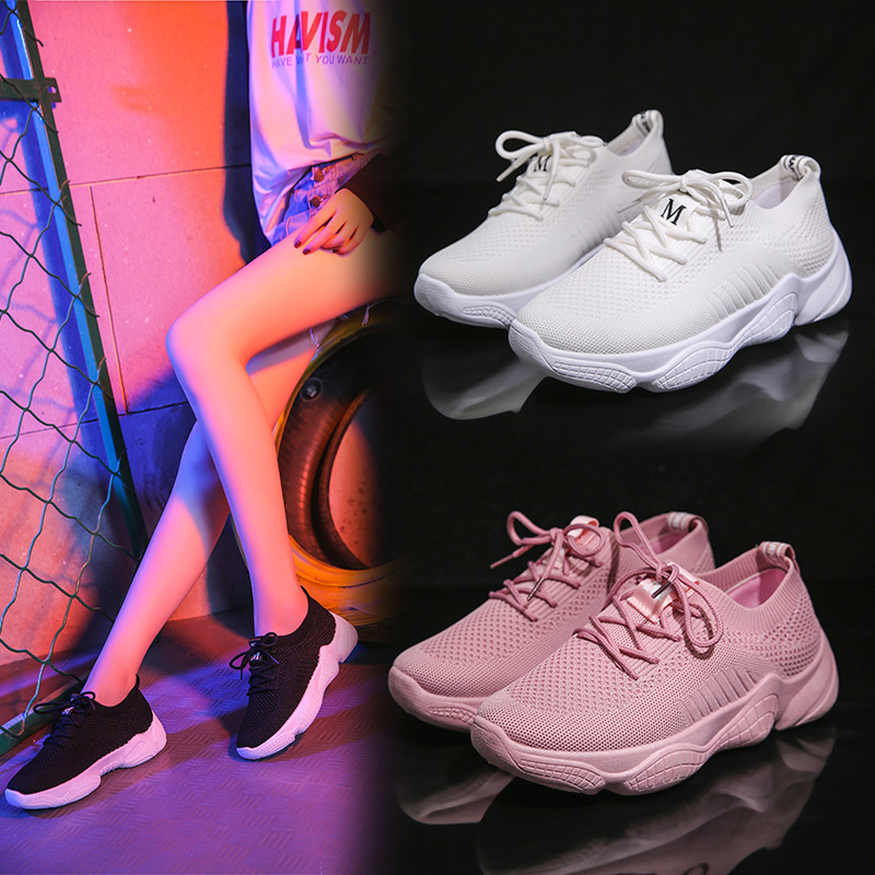 Women Shoes 2019 New Fashion running shoes breathable sneakers Ins hot dad shoes white sneakers woman sports shoes fast deliveryWomen Shoes 2019 New Fashion running shoes breathable sneakers Ins hot dad shoes white sneakers woman sports shoes fast delivery