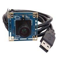Elp cctv 8 megapixels de alta resolução melhor pequeno sony imx179 8mp Placa Da Câmera Webcam USB HD com 16mm lente de comprimento focal longo