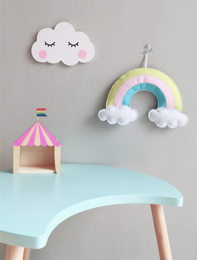 Cloud Pendant Wall Hanging Nordic Style Baby Tent Room Decor Kids Photo Props
