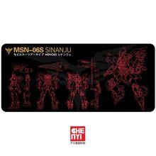 Mechanical keyboard Mousepad Gundam msn 06s Unicorn EXIA Sinanju rx 0 gn 001 900 400 4mm non Stitched Edges /Rubber High quality
