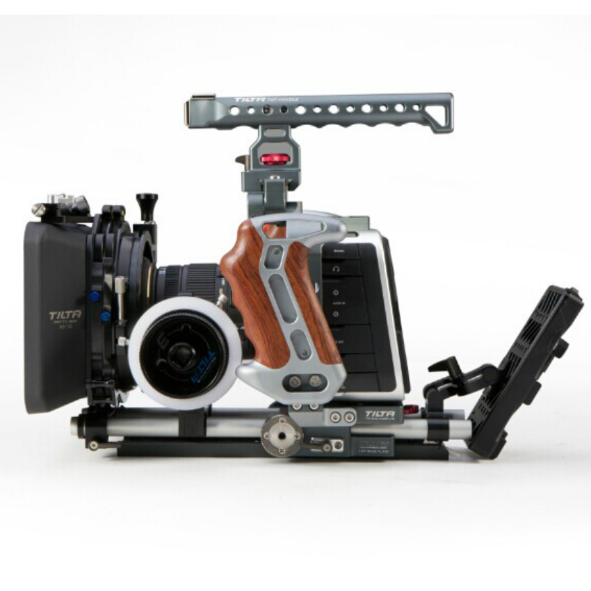 все цены на Tilta BMCC rig Pro Kit for BlackMagic Camera Cage + FF-T03 follow focus + Lightweight Matte box V-lock Power plate онлайн