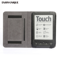 ENJOY UNIQUE Case Cover For Pocketbook Touch HD EReader With Hand Holder