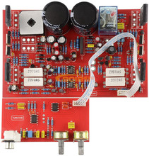 Vertical tube 300W single track Subwoofer fever power amplifier board  including Low pass filter board   Finished plate