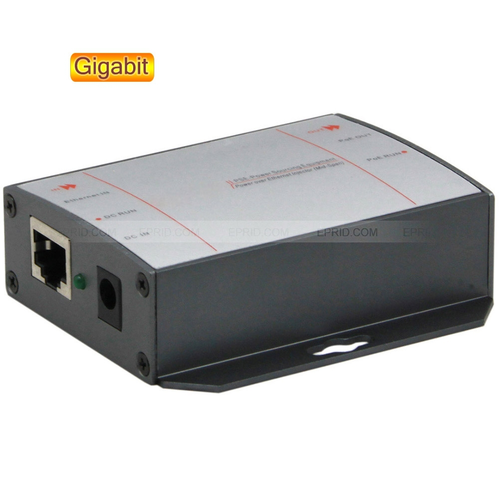 все цены на PoE Injector Gigabit Single Port Power Over Ethernet DC Adapter for IP Camera онлайн