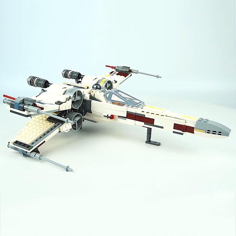 Lepin-05145-Starwars-Fighter-Star-Plan-Wars-X-75218-Wing-Starfighter-Model-Set-Building-Blocks-Bricks (1)