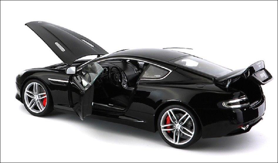 Welly 1:18 Aston Martin DB9 Moulé Sous Pression Modèle Sport Voiture De Course Jouet NOUVEAU DANS LA BOÎTE