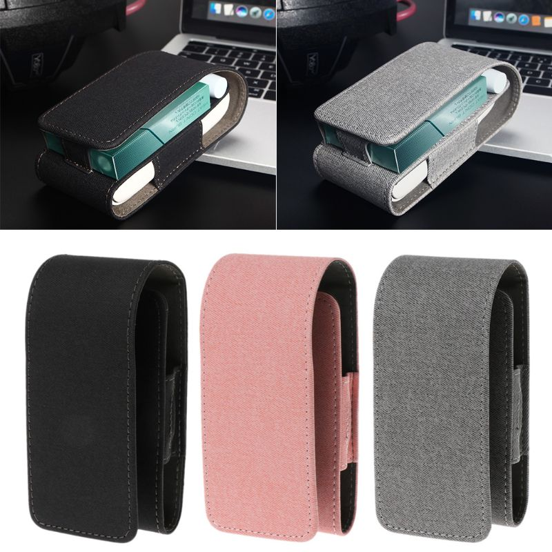 Étui de protection portefeuille porte-cigarette porte-cigarette boîte de rangement pour cigarette électronique iQOS 2