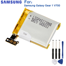 Samsung Original SM-V700 Battery Gear 1 SM-V700 For Samsung Galaxy Gear1 V700 SMV700 Genuine Replacement Battery 315mAh холст 30x40 printio закат