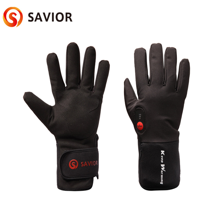 3-6 heures gants chauffants à piles gants de sport de plein air pour le Ski moto chasse hiver Ski amoureux de vélo cadeau - 5