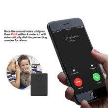 Mini Spy GSM Dispositivo Anti perso antifurto GPS Tracker Monitor Audio di Ascolto di Sorveglianza 12 Giorni In Standby Voce attivazione Costruito