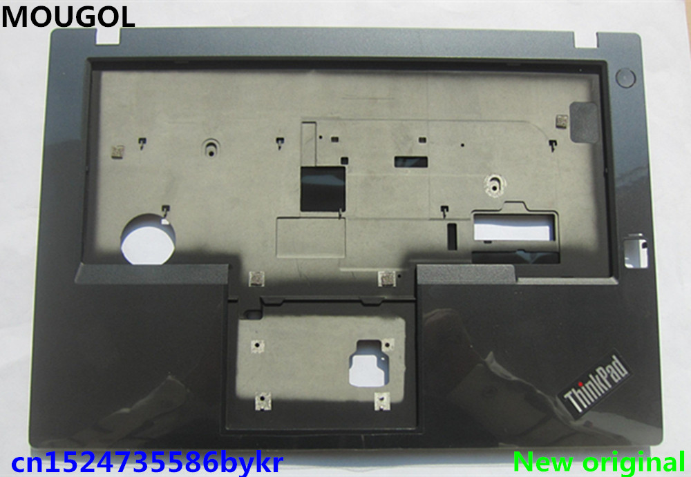 New 00HT717 for Lenovo Thinkpad L450 Palmrest Keyboard Bezel W// FP Bottom Case
