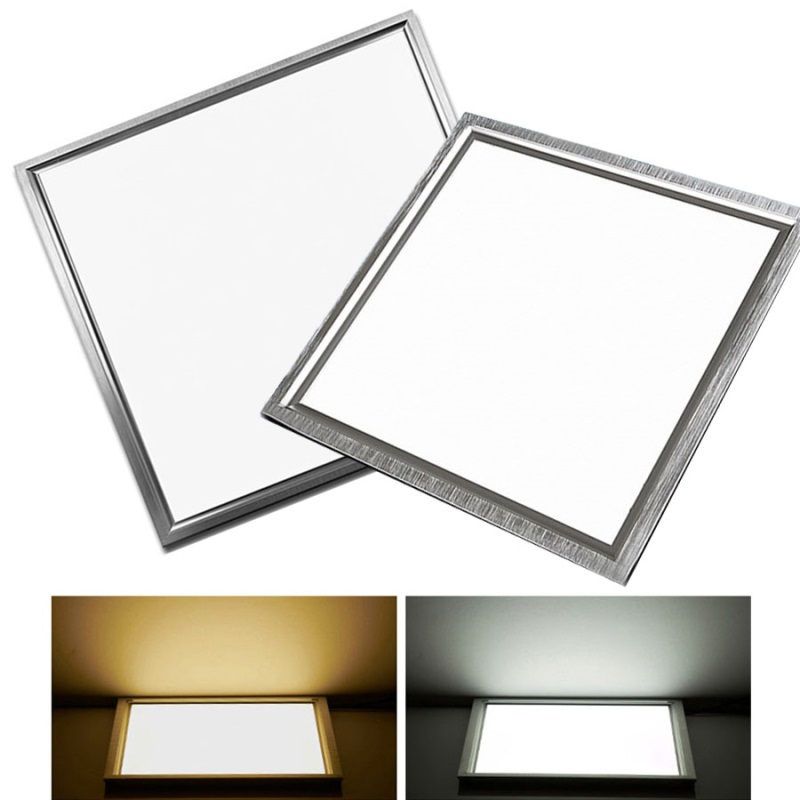6pcs lot LED Panel Light Square 38W 48W 600x600 Embeded Panel Ceiling Downlight SMD5630 LED Panel