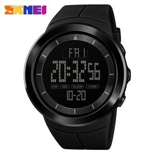 Image 1 - 2018 SKMEI Mens Sports Watches Fashion LED Digital Watch Men Waterproof Military Wrist Watches For Men Clock Relogio Masculino