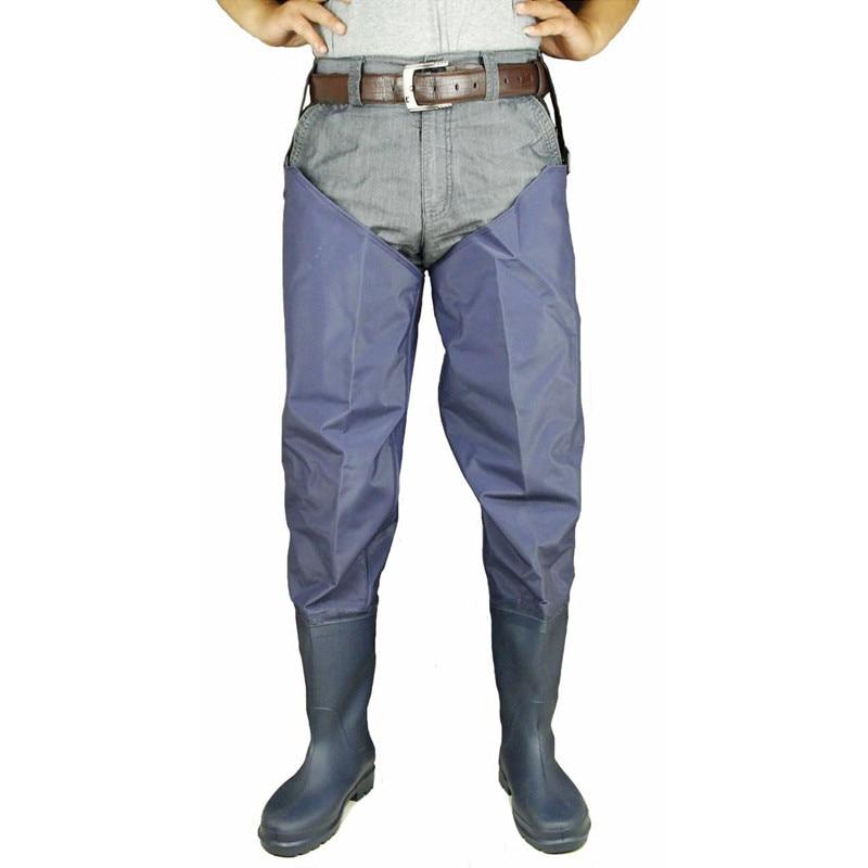 Fishing Waders man and women boots shoes wear resistant non slip waterproof footwear leg pants Rubber