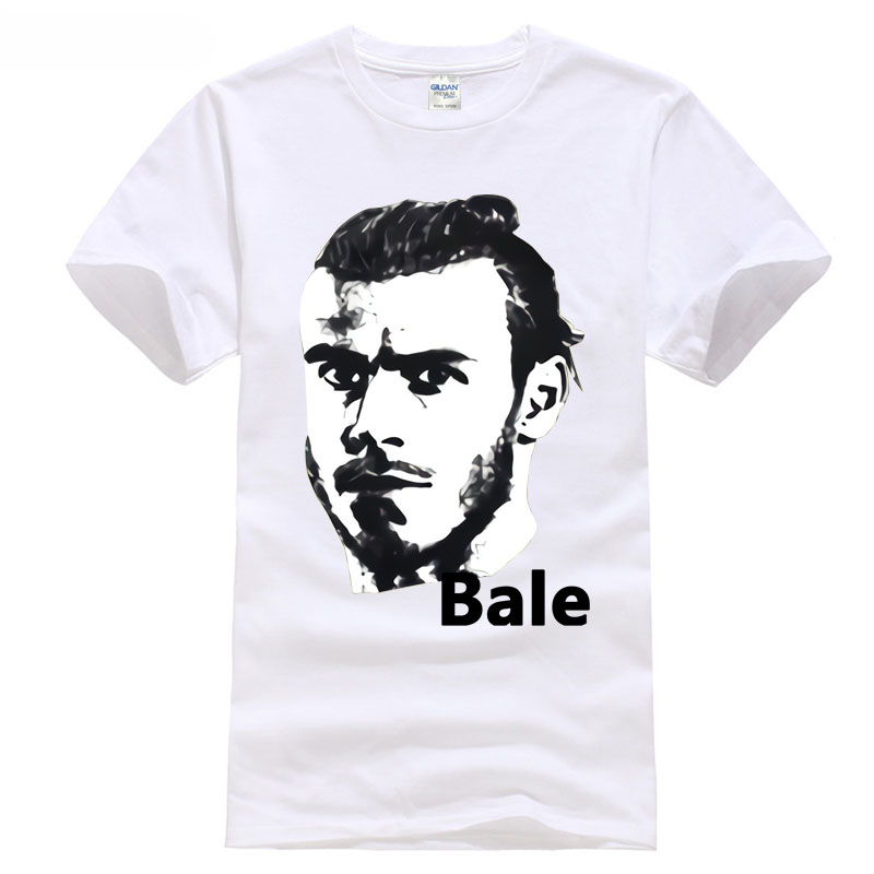 t shirt Funny Print Clothing Hip-Tope Mans T-Shirt Tops Tees bale NO.11 madrid footballer player 2018