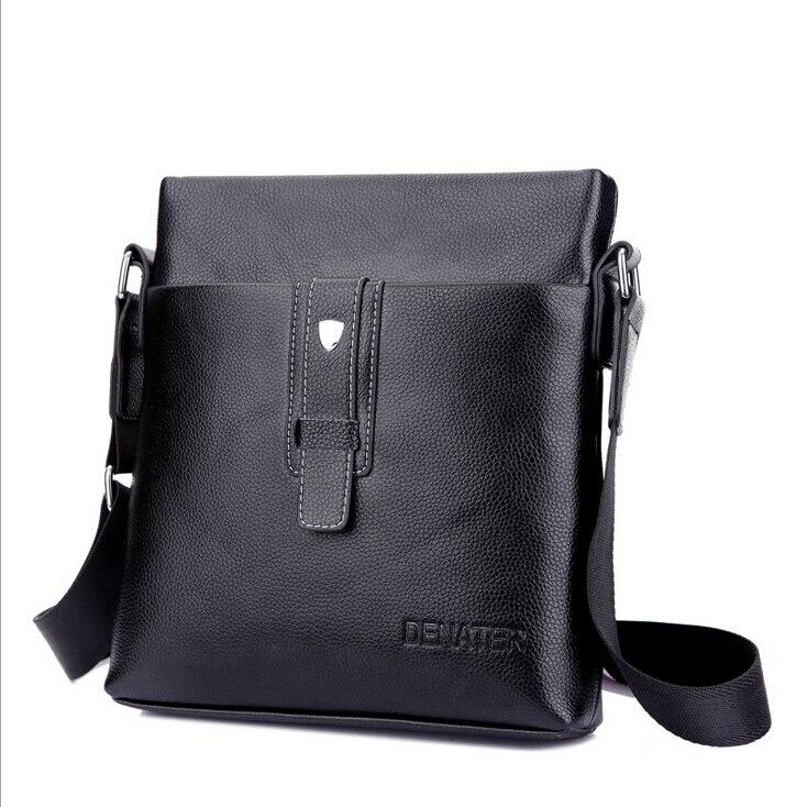 d2f672681b Di modo caldo di Marca sacchetto di spalla di Affari degli uomini casuali  degli uomini crossbody bag Maschio PU borse in pelle Messaggero LJ-111