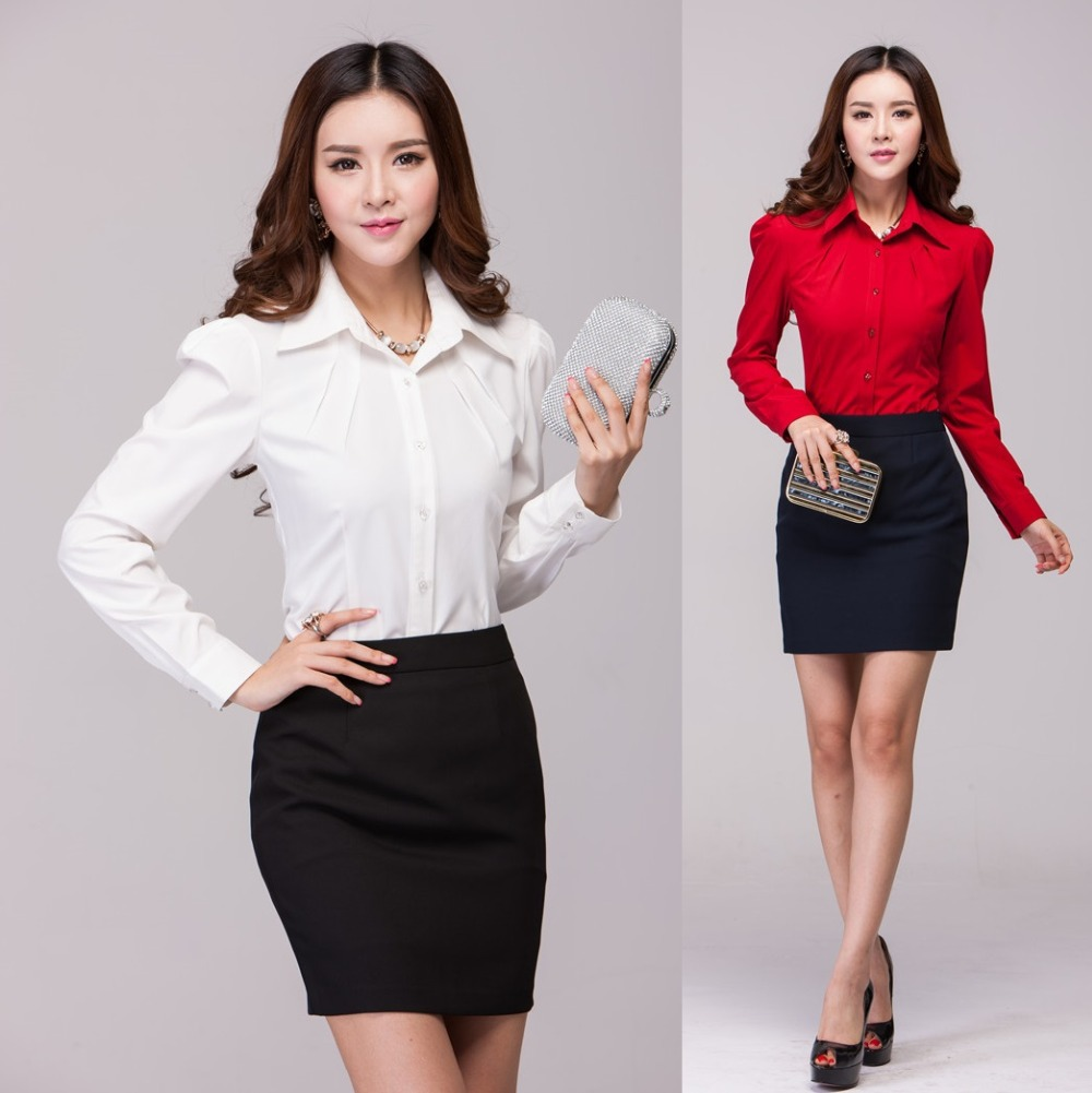 Compare Prices on Formal Skirts Blouses- Online Shopping/Buy Low ...
