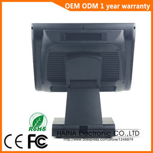 Image 4 - 15 inch with Customer display Touch Screen POS System Electronic Gas Station Cash Register Machine