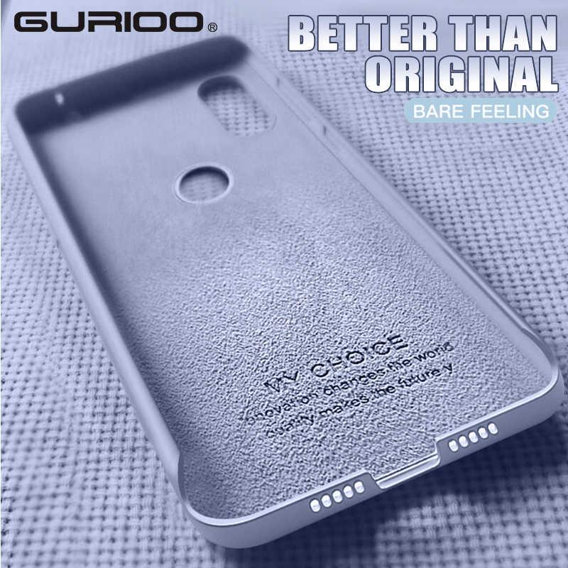 Caso macio do telefone de silicone original para xiao mi 8 9 se lite mi x 2 3 2 s 5 6x jogar para o vermelho mi 6 7 6a nota 7pro capa oficial funda
