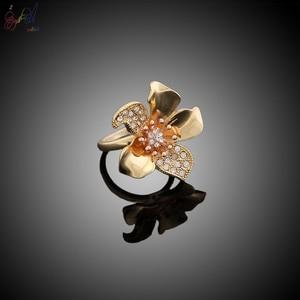 Image 5 - Yulaili Big Luxury Flower Boom Women Engagement Cubic Zirconia Necklace Earring Dubai Jewelry Set Jewellery Addiction