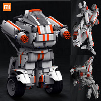 Newest Xiaomi Mitu Robot Building Block Robot Bluetooth Mobile Remote Control 978 Spare Parts Self Balance