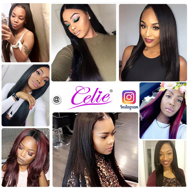 Celie Hair Straight Brazilian Hair Weave Bundles 10-30 inch Deals Natural Color Human Hair Bundles 100% Remy Hair Extensions