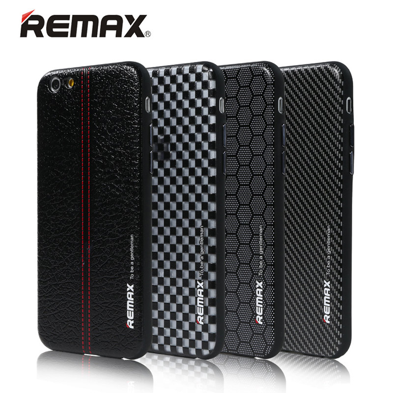 REMAX Gentleman Phone case for iPhone 6s 6 4.7 Inch PC+TPU Fashion Design Durable Cover Skin leather case For iPhone 6 Plus