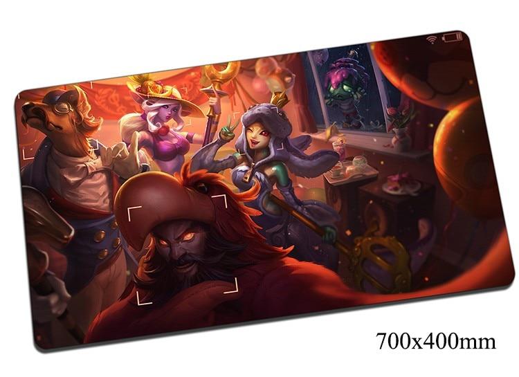 Amumu Muismat 700x400x2mm Gaming Mousepad Gear Lol Gamer Muis Mat Pad Game Computer Sad Mummie Padmouse Foto Spelen Matten