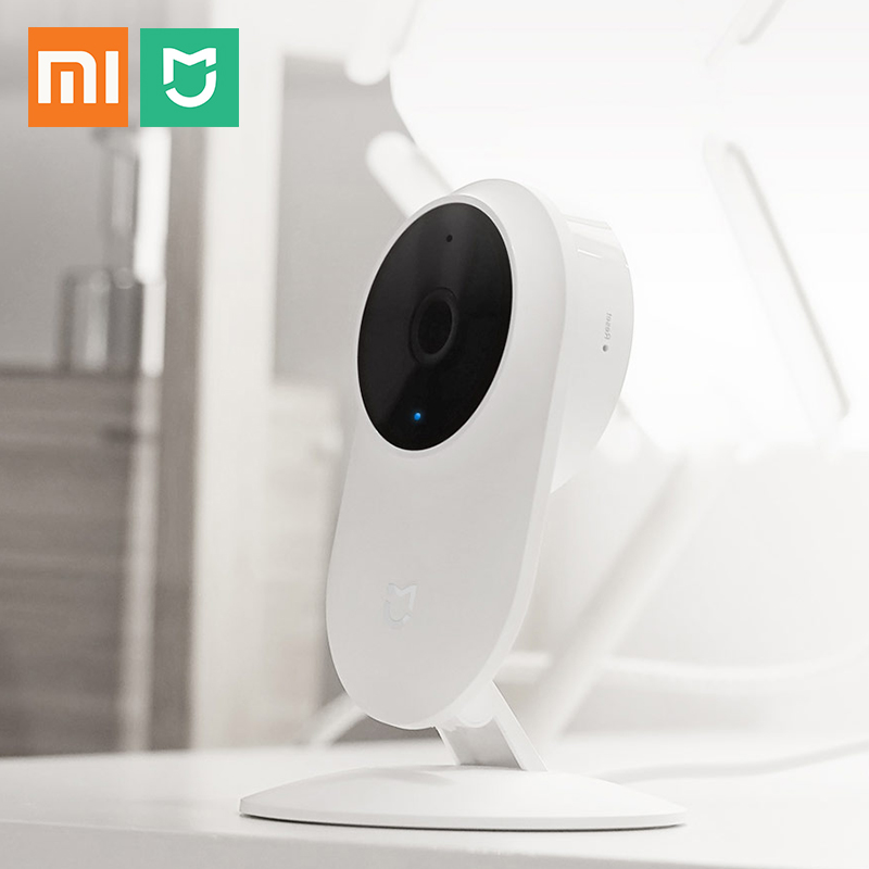 Xiaomi Mijia HD 1080P Smart IP Camera 130 Degree FOV Night Vision 2.4Ghz Dual-band WiFi Xiaomi Home Kit Security Monitor