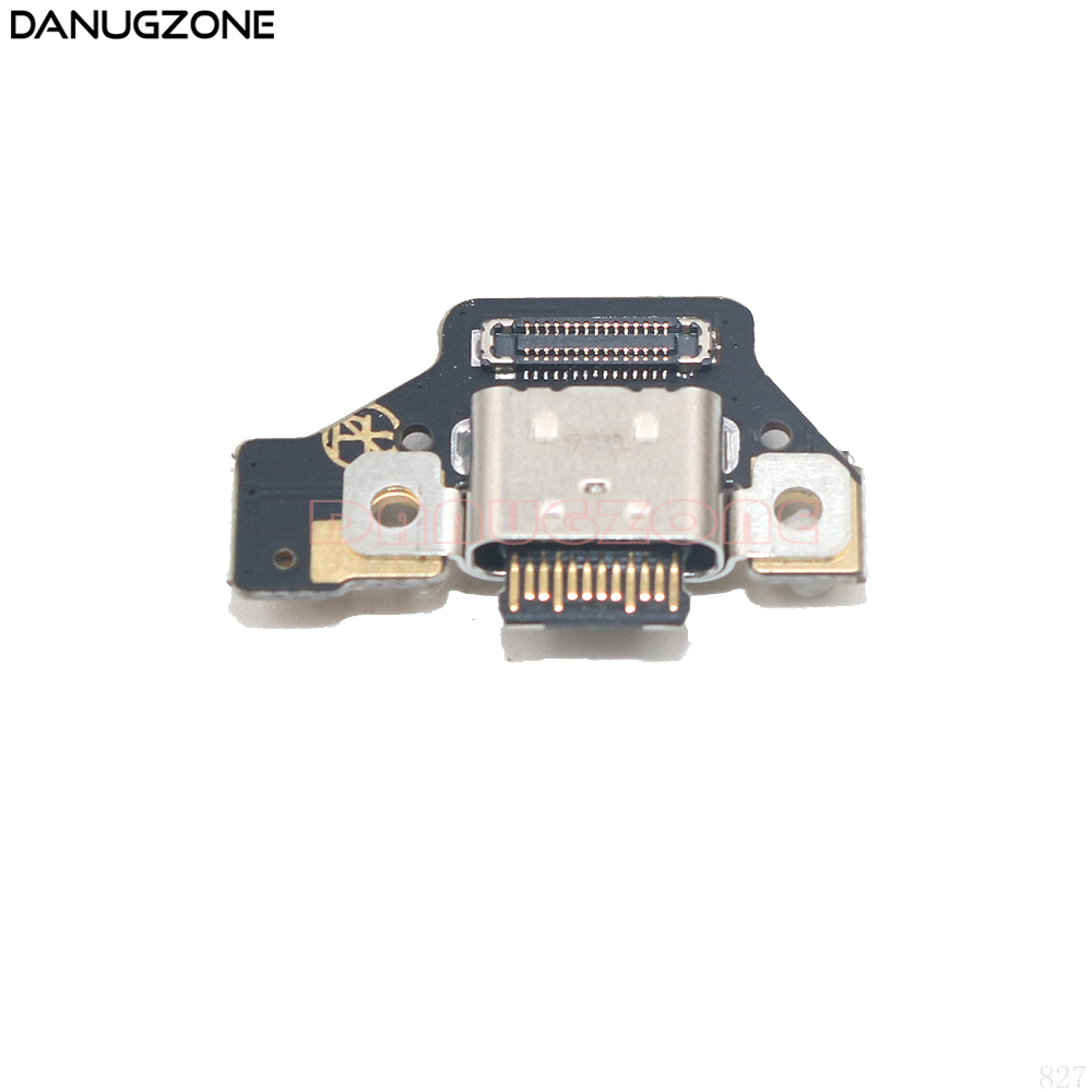 USB Charge Board Jack Dock Socket Plug Charging Port Connector Flex Cable With Microphone For ZTE Nubia M2 NX551j(China)