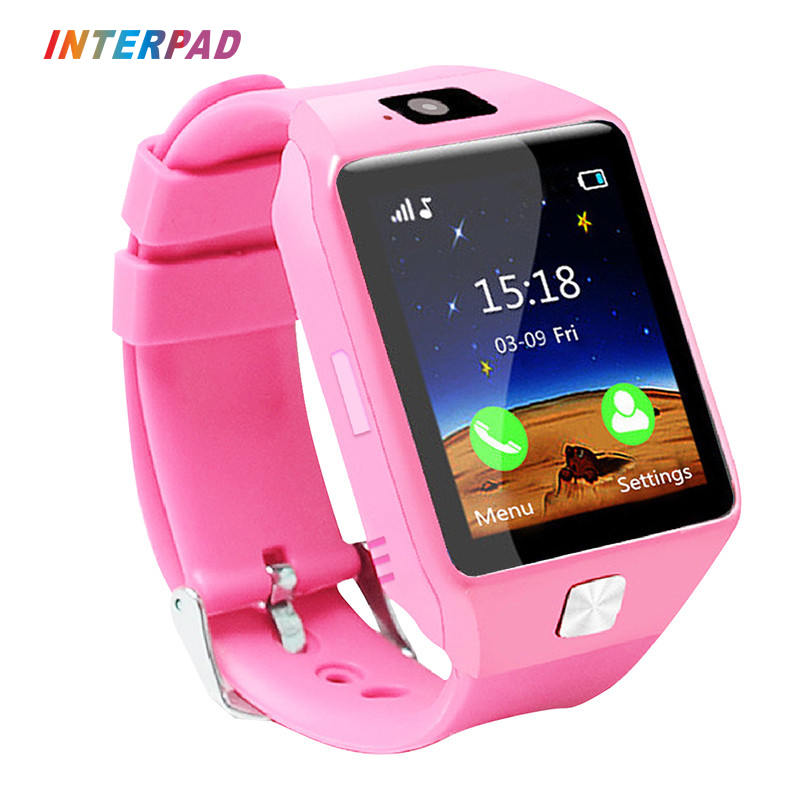 Interpad Smart Watch Anti lost kids Watches Smart Baby Watch With SOS Bluetooth Clock Support SIM Card Alarm Smartwatch