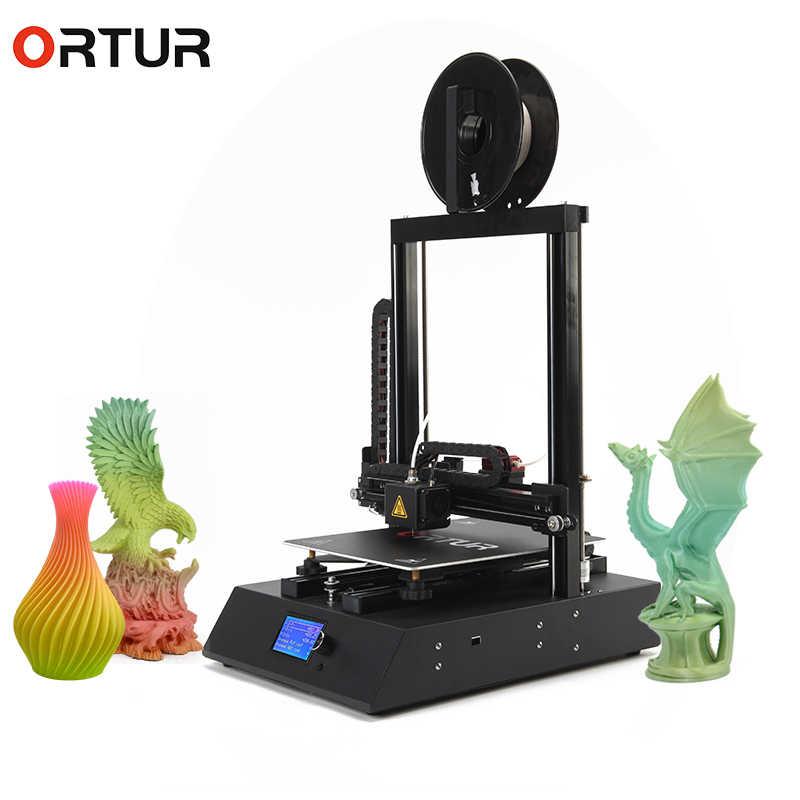 Полимерный Набор для моделирования Ortur4 3d принтер для дома, печать и обнаружение нити, доступный Stampante 3d самая быстрая sd-карта