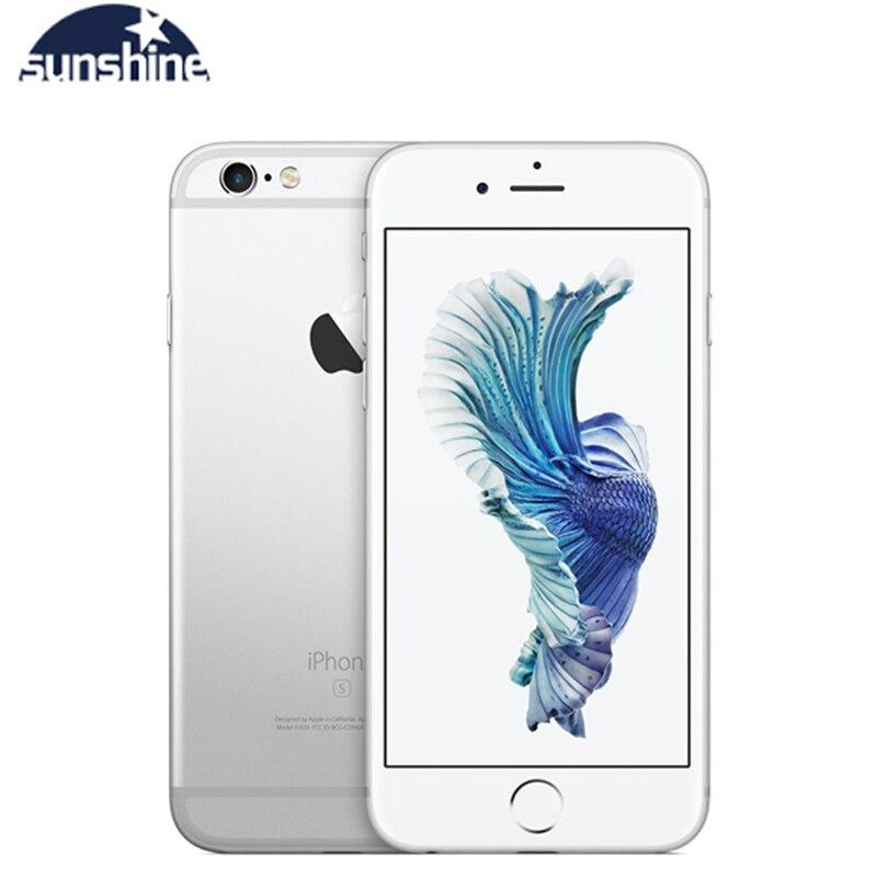 Original Unlocked Apple iPhone 6s 4G LTE Mobile phone 4.7'' 12.0MP IOS 9 Dual Core 2GB RAM 16/64GB ROM Smartphone