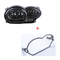 2018 LED Headlight for BMW R1200GS R 1200 GS adv r1200gs lc 2004 2012(fit oil cooler)