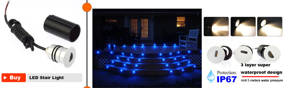 Details about  /5 BBT Waterproof 12 volt Blue LED Stainless Steel Landscape Accent Lights