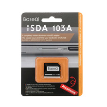 BaseQi Алюминий TF карты/Micro SD адаптер для MacBook Air 13 «MacBook и MacBook Pro 13″/15 «(retina)