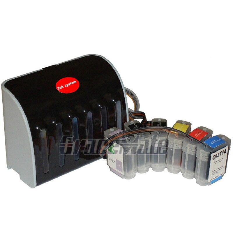 Remplacement CISS compatible pour encre HP 72 pour imprimante HP designjet T610 T620 T790 T1100 T1120 T1200 T770 CISS avec encre