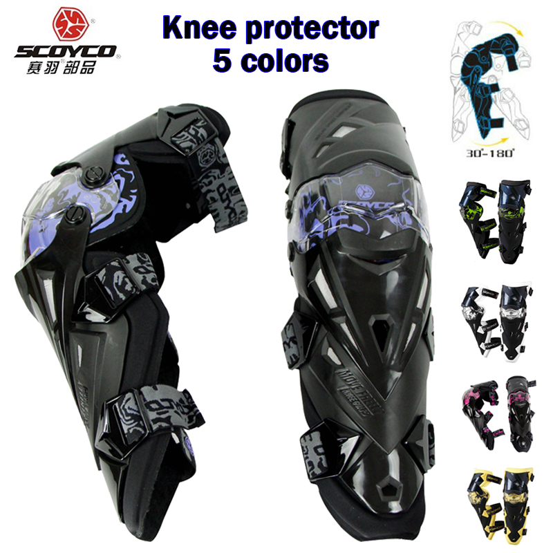Cyclegear Brand Store Upgrade 2017 Motorcycle Knee Protector Bike Racing Protective Kneepad Guard Gear Scoyco K12