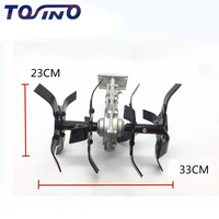 2018 Tosino New Garden tool brush cutter grass wheel , Brush cutter parts , mini tiller parts garden tiller , garden cultivator