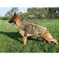 Coletes À Prova de Cão Roupa Do Cão treinamento Militar do exército Tático SWAT Carga Arnês Do Cão Treinamento de resgate Molle Cinto Colete XS-XL