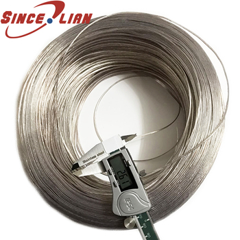 30 Meters UL2468 26 24 22 20AWG PVC Tinned Bare Copper Cord Gold and Silver Audio Speaker Cable 2468 Transparent Parallel line
