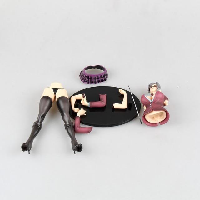 22cm Anime Sexy Figure Prison School Shiraki Meiko Japanese Action Figures PVC Collection Model toys for christmas gift 2