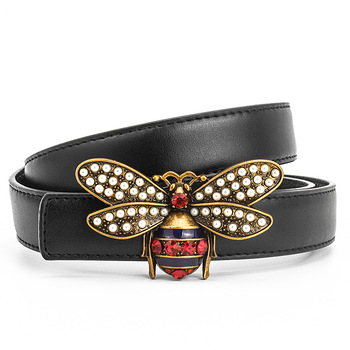 Brass Bee Buckle Belts