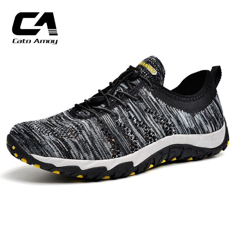 CA Breathable Hiking Shoes For Men 2017 Men Women Outdoor Sneakers Trekking Shoes Men Outdoor Hiking Sandals Men Sport Sneakers peak sport men outdoor bas basketball shoes medium cut breathable comfortable revolve tech sneakers athletic training boots