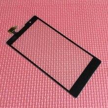 """Новый Черный 5.5 """"высокое Качество Переднее Стекло Сенсорной Панели Сенсорного Экрана Digitizer Для Lenovo P90 K80 K80M Замена Мобильный Телефон"""