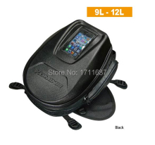 High Quality New Komine SA-225 Motorcycle Tank Bag Super BLACK Free shipping