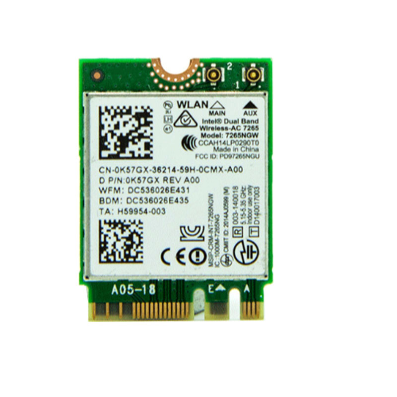 802.11AC 2.4//5G NGFF//M2 Bluetooth 4.0 WIFI Wireless Network Card for Lenovo CO
